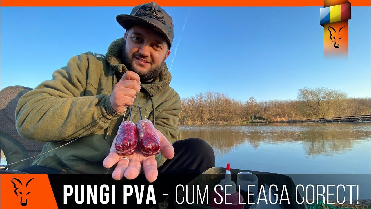 Cum se leaga corect pungile de PVA cu sistemul Fox Rapide Load - Pescuit la crap