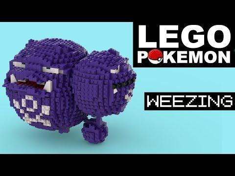 WEEZING LEGO POKEMON (Custom Build)
