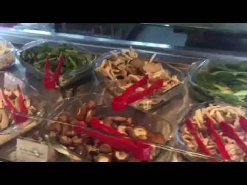 Range of ingredients at Thai restaurant Talay Kata