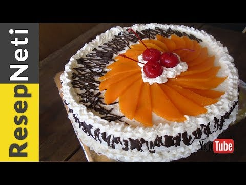 cake-coklat-buah-mangga-blueberry-enak-dan-sederhana