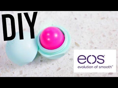 DIY EOS Tinted Lip balm! EASY