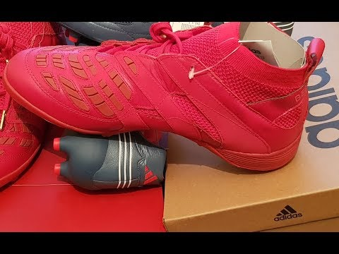 best service 8cd46 10909 BECKHAMs new football boot - Predator Accelerator Turf Boot Unboxing and  Review