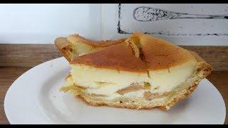 Яблочный пирог в сметанной заливке|Цветаевский пирог