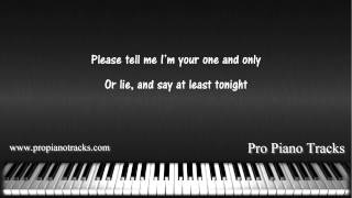 Give You What You Like by Avril Lavigne Piano Accompaniment Karaoke Backing Track Video