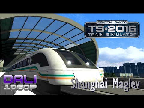 Train Simulator: Shanghai Maglev Route Add on PC Gameplay 60fps 1080p