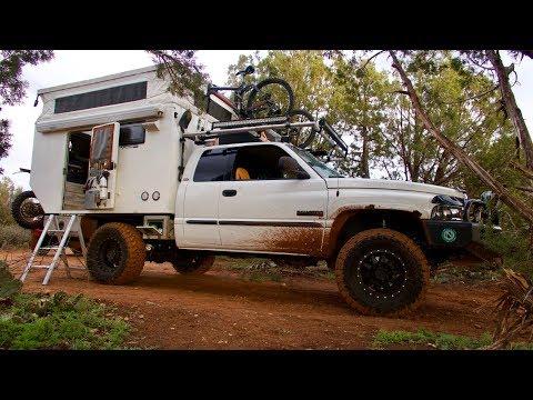 Truck Camping: INCREDIBLE Custom 4x4 Overland Rig (walk-through)