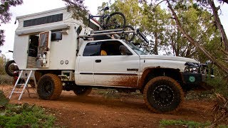 Truck Camping: INCREDIBLE Custom 4x4 Overland Rig (walk-through)