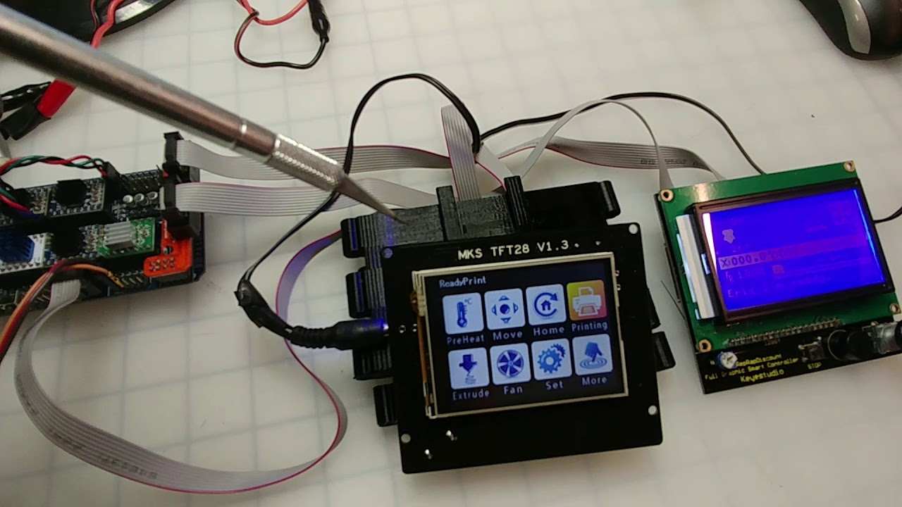 Gmax 1 5 XT+ Silent TMC2100, Thermocouple, TFT 28 & Full Graphic Controller  by titiki1000