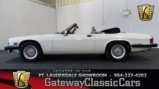1991 JAG XJS - Gateway Classic Cars Ft. Lauderdale Stock#254-FTL thumbnail