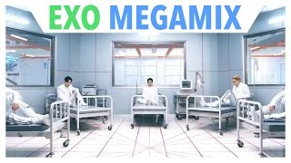 EXO (엑소)   The Ultimate MEGAMIX by Swim Team One