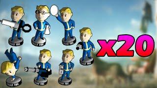 Fallout 4: TODAS LAS 20 LOCALIZACIONES de los Cabezones (Bobbleheads) [Guía/Tutorial en Español]