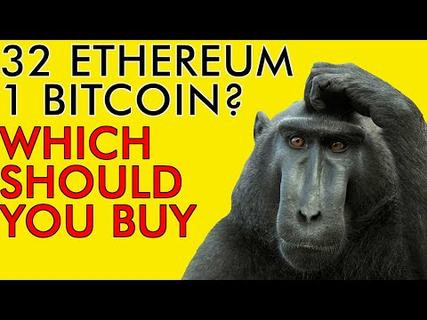 SHOULD YOU BUY 1 BITCOIN OR 32 ETHEREUM IN 2020???