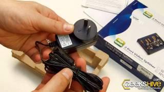 2 Port Video Splitter 350MHz VS132 Aten - Unboxing by www.geekshive.com