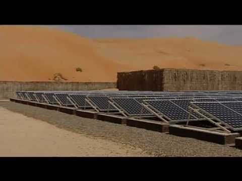 A carbon neutral desalination plant in the desert?  Only in the UAE!