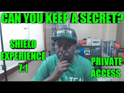 CAN YOU KEEP A SECRET?- NVIDIA SHIELD TV EXPERIENCE 7 1 PRIVATE BETA IS  AMAZING