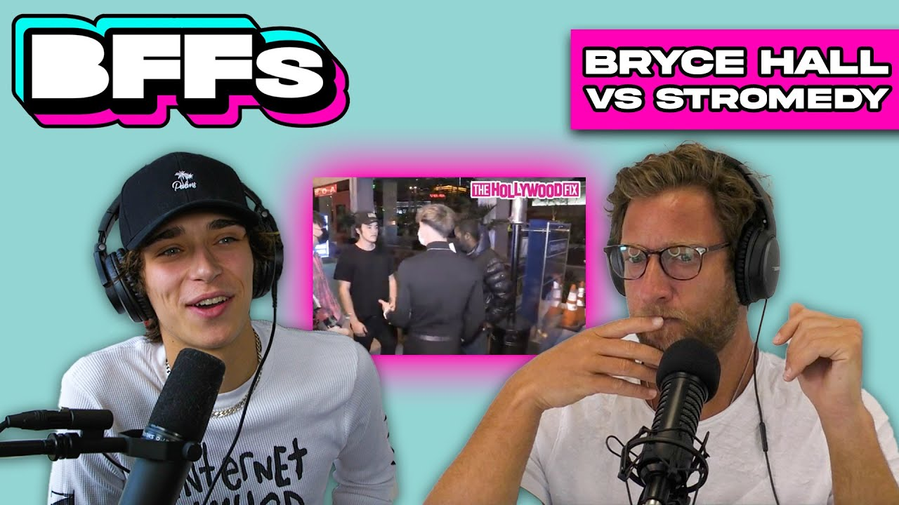 BRYCE HALL vs STROMEDY- DAVE AND JOSH REACT