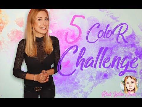 Wyzwanie 5 KOLORÓW z BlackWornJeans