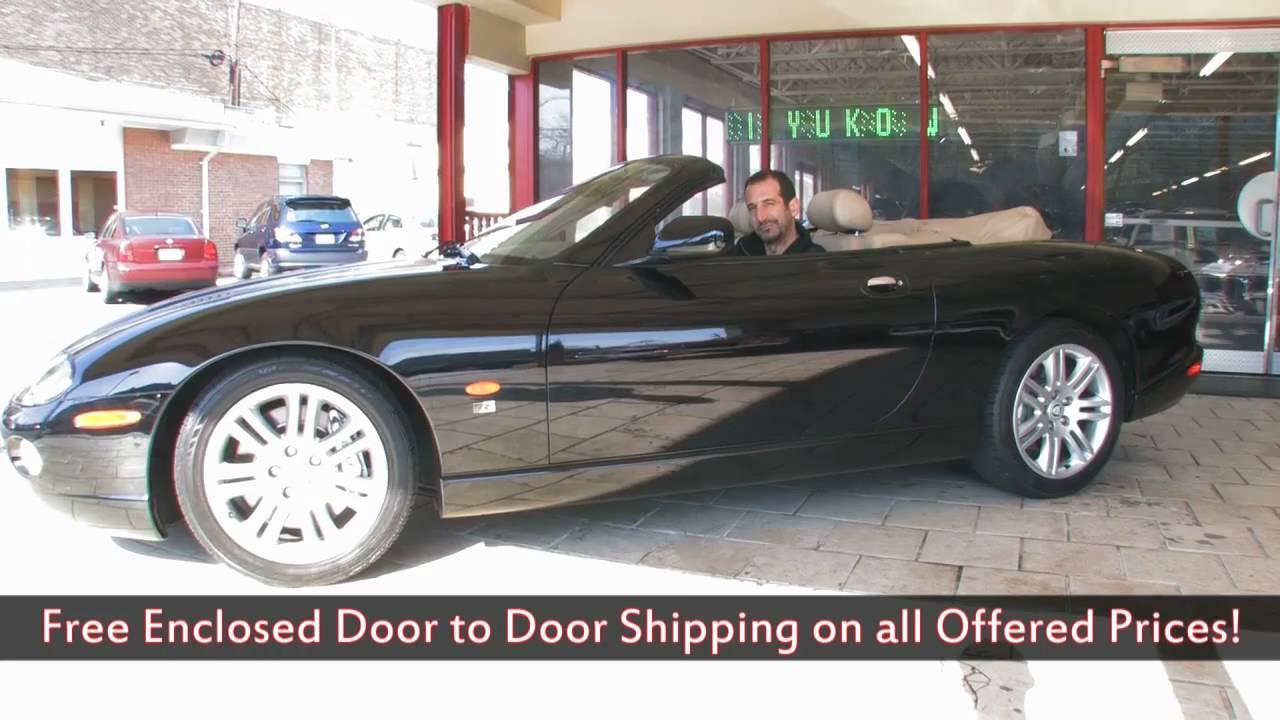 2005 Jaguar XKR Convertible For Sale With Test Drive, Driving Sounds, And  Walk Through Video