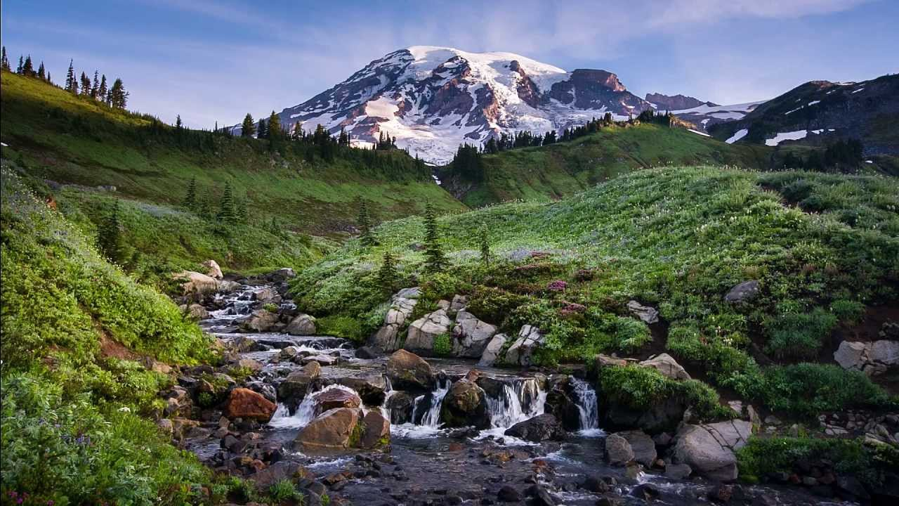 Mount Rainier National Park | Canon 5D RAW - YouTube