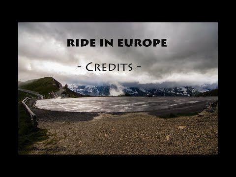 Ride in Europe | Alps Mountain | Germany | Austria|Italy | Swiss | S1000RR | KTM|Credits Video