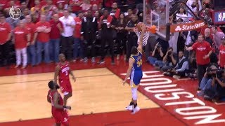 Stephen Curry Embarrasses Himself With Missed Dunk - Game 3 | Warriors vs Rockets Video