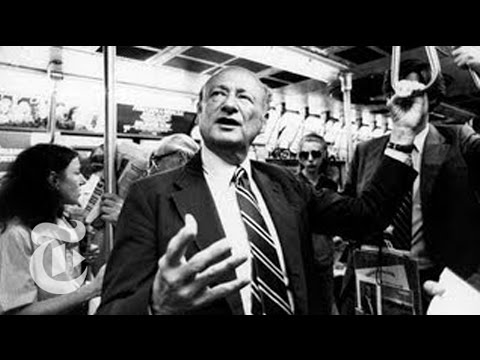 Ed Koch Dead: Ex-New York City Mayor on Life and Career | The New York Times