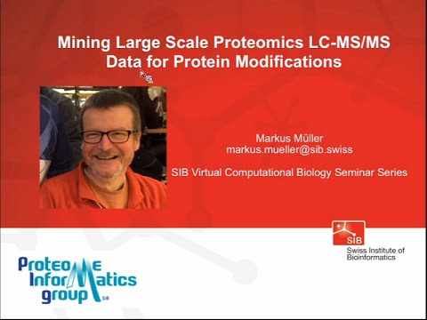 Markus Müller: Mining Large Scale Proteomics LC-MS/MS Data f