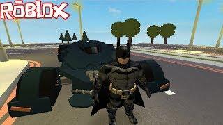 Eu sou o batman no roblox (batman arkham generations)