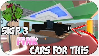 ROBLOX Lumber Tycoon 2 (One Plot Challenge!) Skiping 3 PINK cars for this...