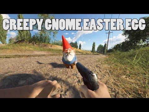 Creepy stalking gnome Easter egg - BattlefieldV