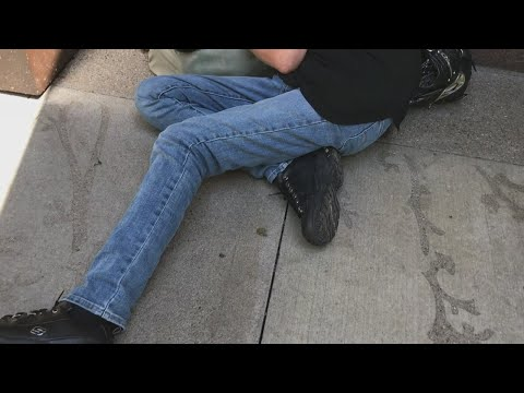 Homelessness Problems In Plain Sight On Minneapolis' Nicollet Mall