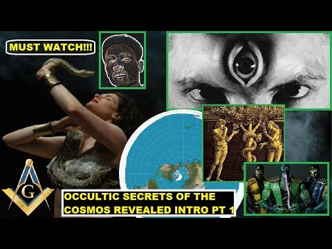Tree of Life Secrets Revealed: Sacred Geometry of the Compass & Square on Masonic Flat Earth!!!