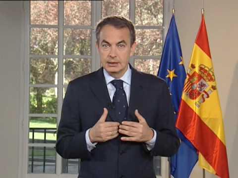 Spanish Prime Minister José Luis Rodríguez Zapatero