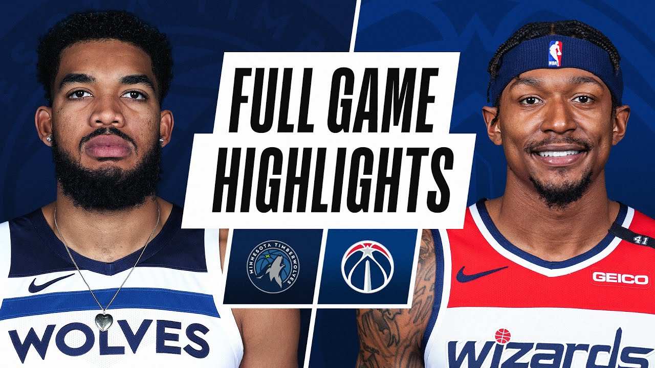 TIMBERWOLVES at WIZARDS | FULL GAME HIGHLIGHTS | February 27, 2021