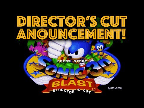 Sonic 3D Director's Cut Announce! (and 25,000 subs thank you)