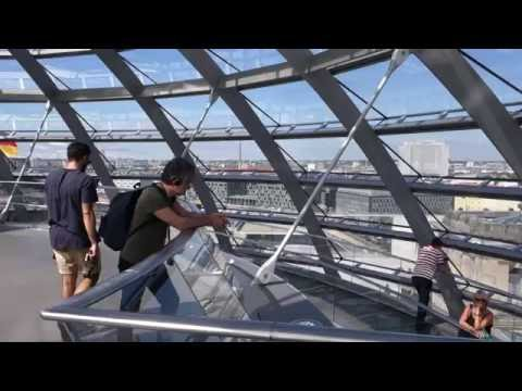 Tour of the Glass Dome Atop Berlin's Reichstag Building