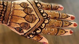 Latest New Stylish Bridal Mehndi Designs for Hands | Full Hand Jhumka Mehandi Design