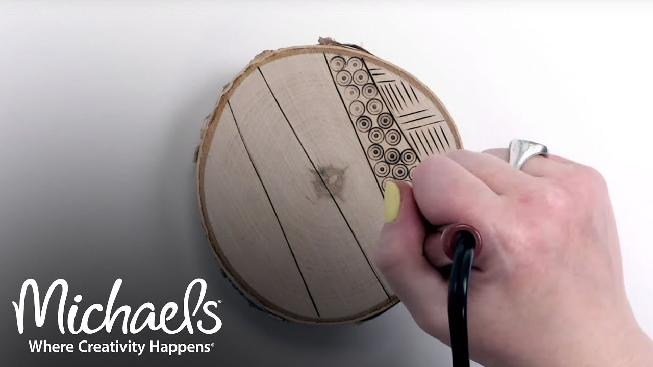 Woodburning Techniques   Extras: Crafts & Hobbies   Michaels