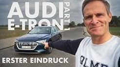 Audi e-tron KOMPLETT leer fahren? | Erster Eindruck | Part 1 | Matthias Malmedie