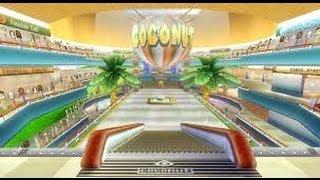 Mario Kart Wii Coconut Mall Gameplay