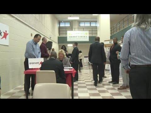 Inmates At Mecklenburg County Jail Participate In Job Fair