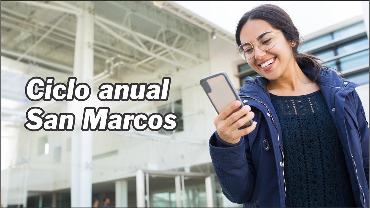 Ciclo anual San Marcos