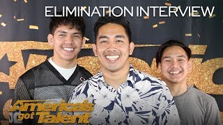 Elimination Interview: Junior New System Chats On Dreams Coming True - America's Got Talent 2018