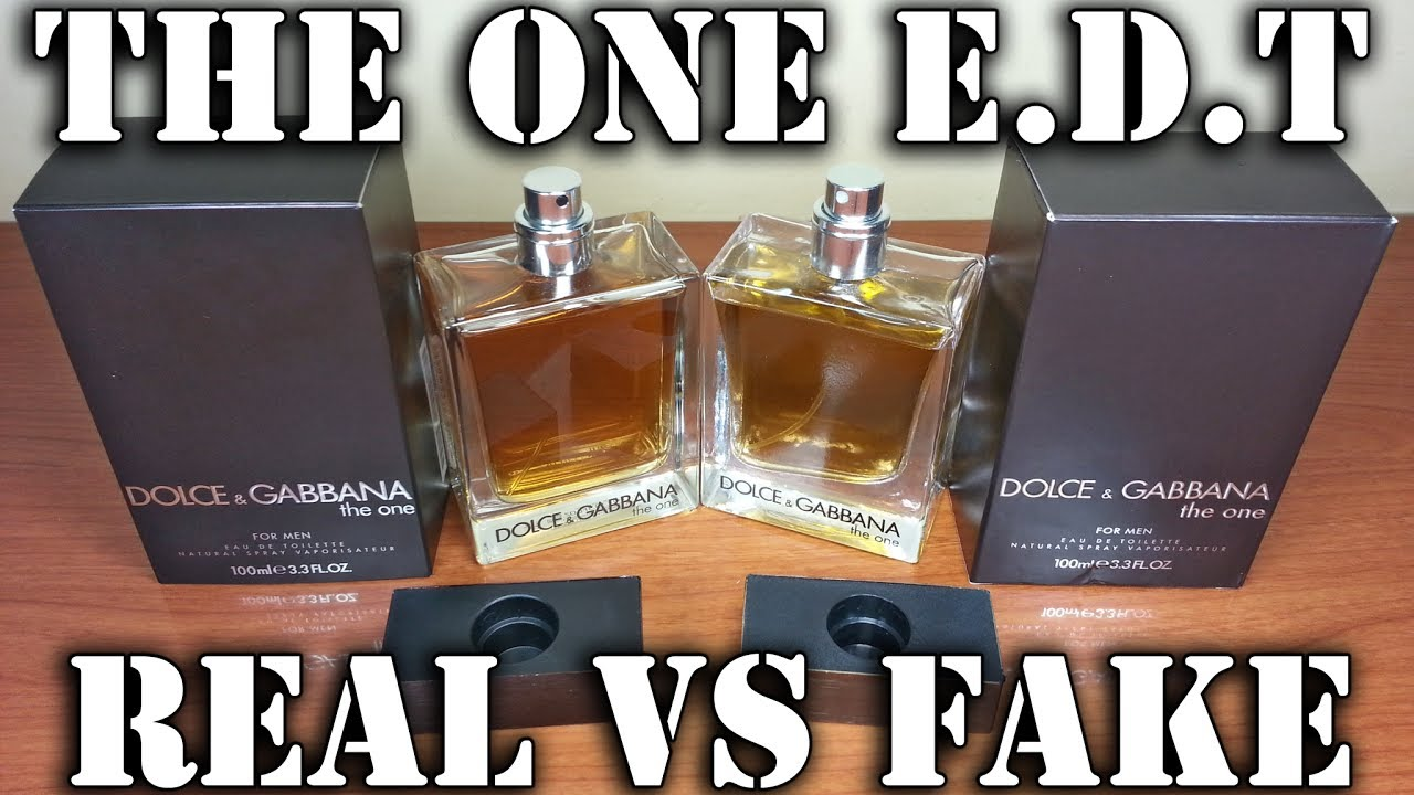 0e8c7e1684 Fake fragrance - The One EdT by Dolce & Gabbana - YouTube