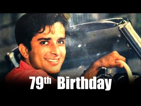 Veteran actor Shashi Kapoor is celebrating his 79th birthday today!
