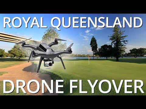 Royal Queensland Golf Club Drone Flyover