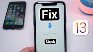 iPhone 11/11 Pro Stuck on Updating iCloud Settings? Here is the Fix 2020