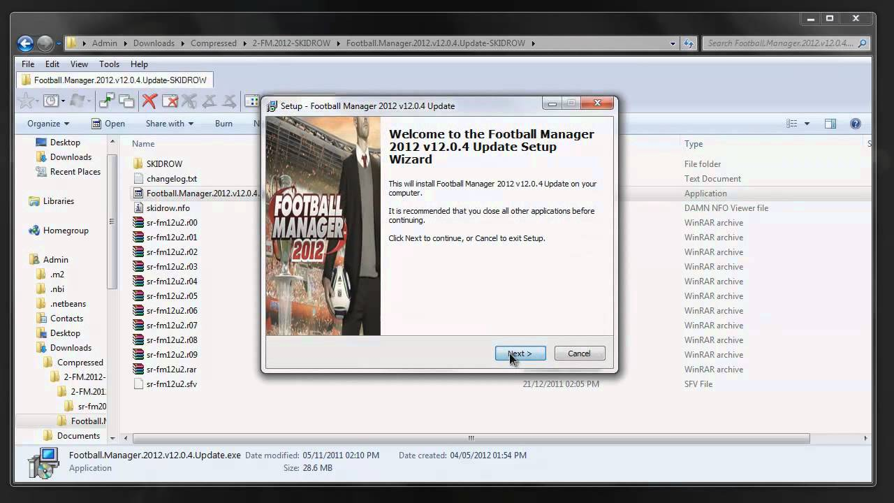 Football Manager 2012 Keygen SKIDROW
