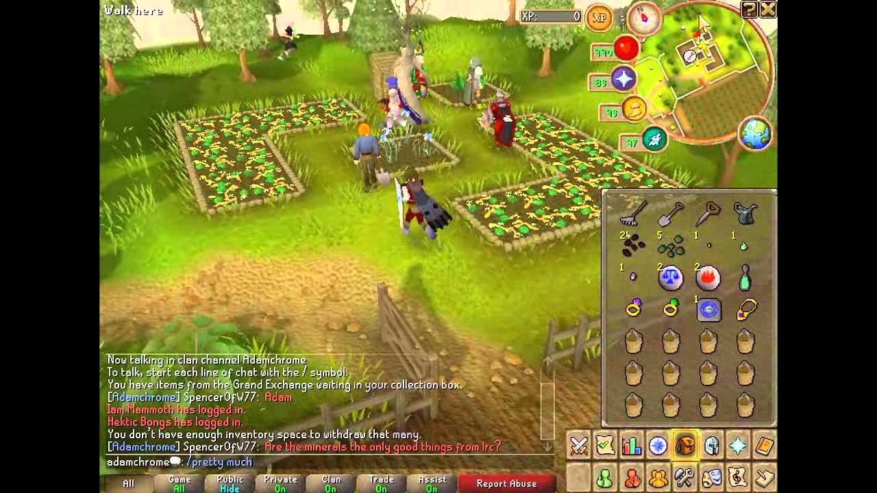 Runescape Farming Guide Special Patches Hd Youtube