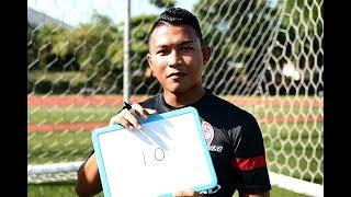 Singapore Footballers Isa Halim vs Anders Aplin: Sport Singapore ambassadors